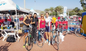 Agidir Triathlon team photo Argan Sports