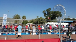 Argan Sports triathlon in Agidir Transition area