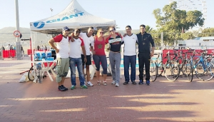 Argan Sports Team photo at Agidir Triathlon