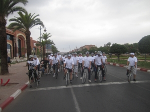 Argan Sports ride with Le Meridien