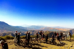 AXS large group MTB ride in the Atlas Mountains