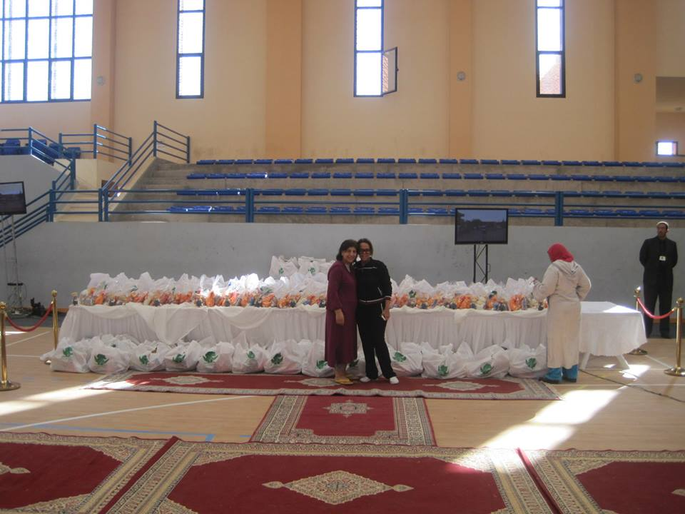 Photo of gifts for children at Charity by Argan Sports to provide circumsision to less fortunate