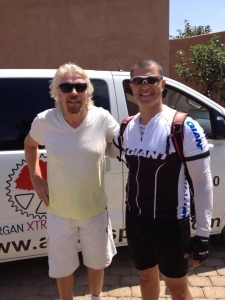 Photo of AXS Customer Richard Branson and Saif