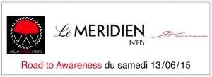 Charity ride logo for Le Merdien