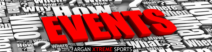 A photo of events with Argan Xtreme Sports under it