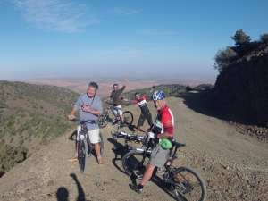 AXS Mountain biking in the Atlas Mountains with Kasbah Toubkal's Mike McHugo