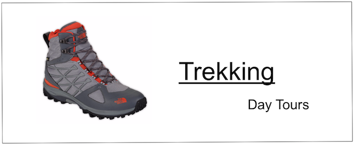 A hiking boot picture and info on trekking tours in Morocco by Argan Sports